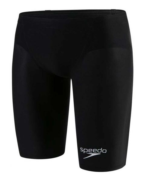 Speedo LZR Elite 2 Jammer - Black / Lava Red