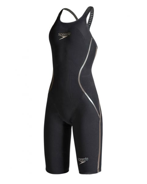 Speedo LZR Racer X Closedback Kneeskin - Black / Gold