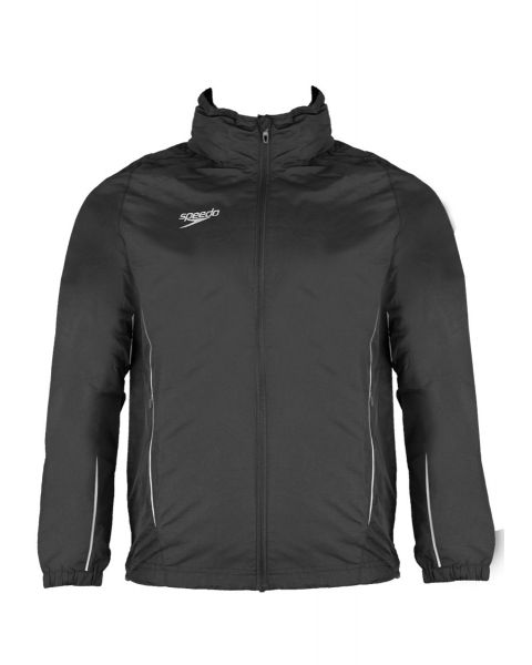 Speedo Team Kit Rain Jacket - Black