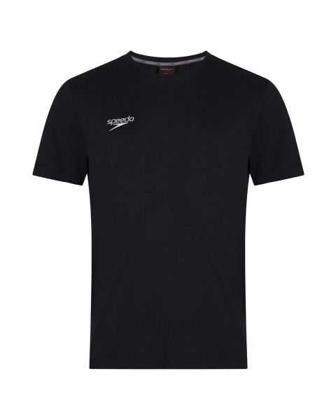 Speedo Team Kit Small Logo T-Shirt - Black
