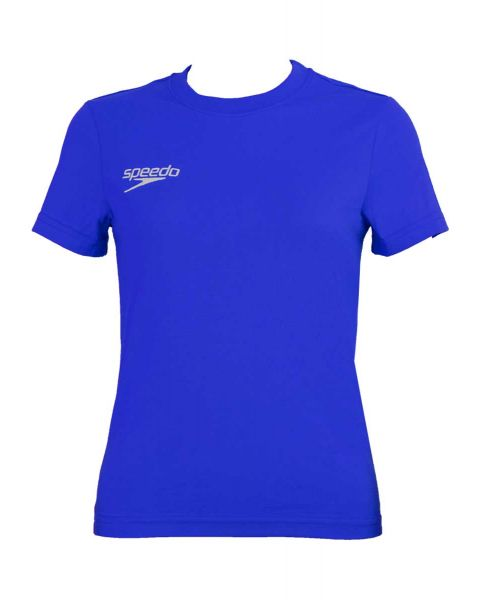 Speedo Team Kit Junior Small Logo T-Shirt - Blue