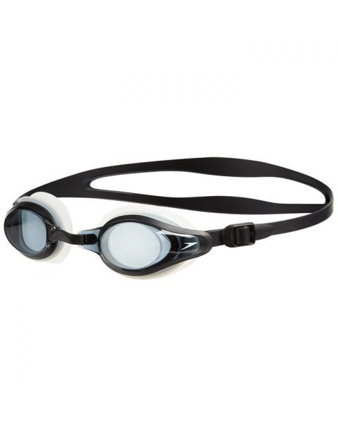Speedo Mariner Supreme Optical Smoked Goggles - Black / Clear