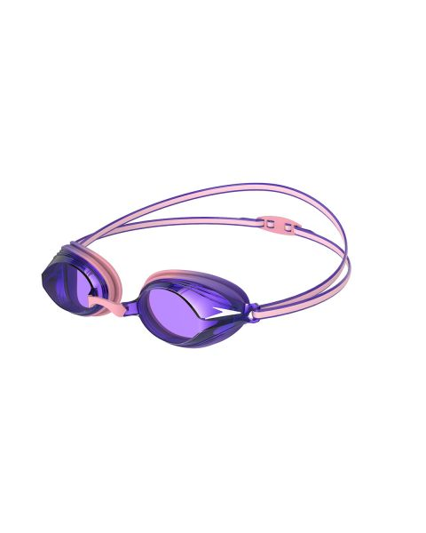 Speedo Vengeance Junior Goggles - Powder Blush / Purple