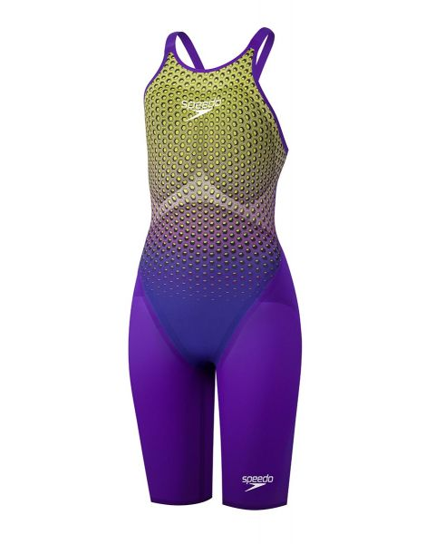 Speedo Fastskin LZR Pure Valor Closedback Kneeskin - Ultraviolet Hex