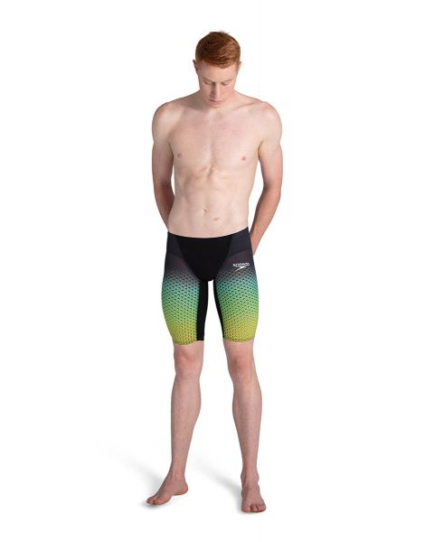 Speedo Man Fastskin LZR Pure Valor Jammers - Stealth Hex