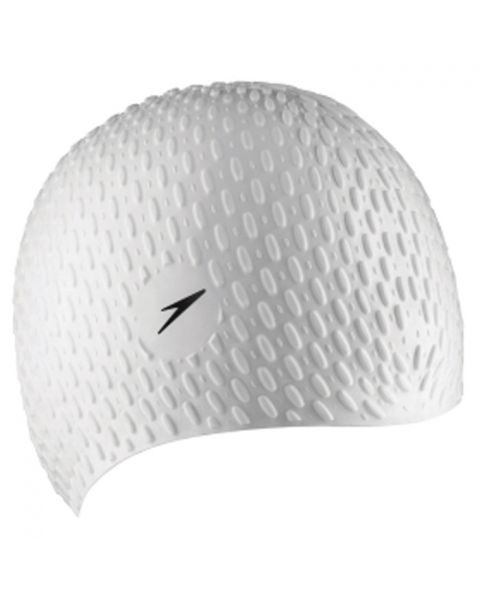 Speedo Bubble Cap - White