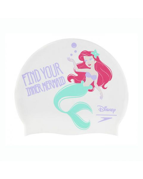 Speedo Disney Junior Badmuts Little Mermaid - Wit / Lilac