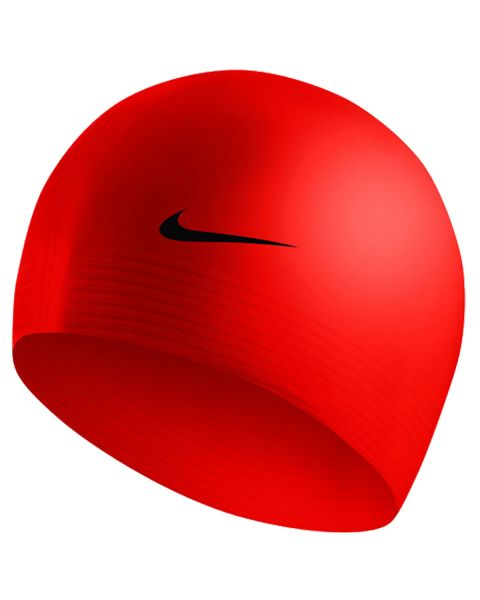 Nike Solid Latex Swim Cap - Varsity Red