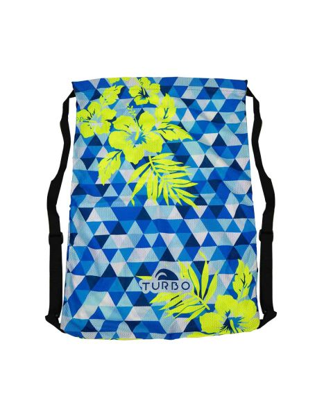 Turbo Blue Hawaii Sacolas Mesh
