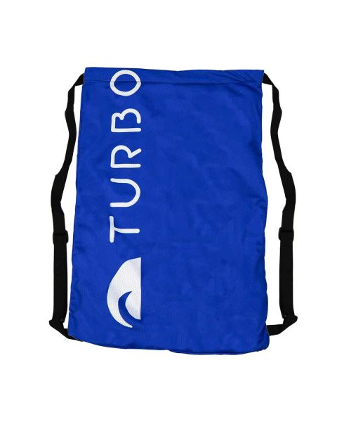 Turbo Solid Sacolas Mesh - Azul-royal