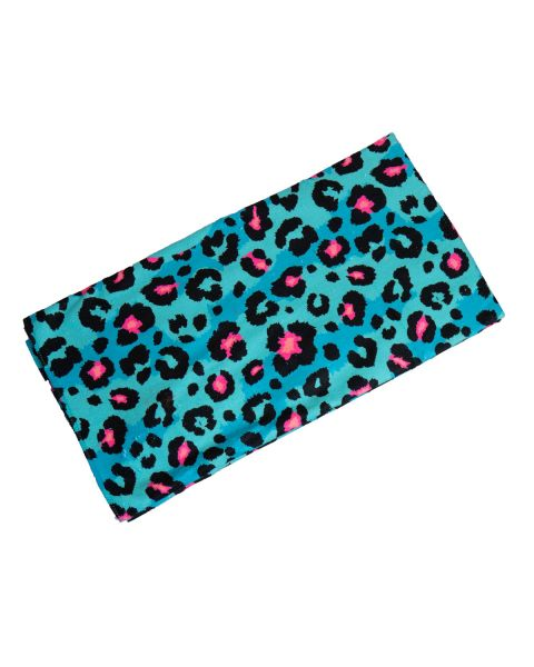 Turbo Blu Animal Microfiber Towel - Turquoise