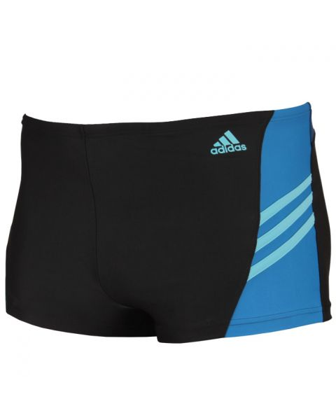 Adidas Boys Swim Shorts - Black / Unity Blue