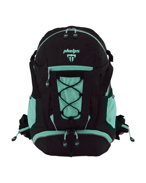 Phelps Team Backpack - Black / Turquoise