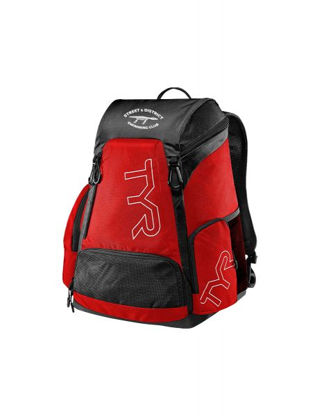 Street & District TYR Alliance 30L backpack - Red / Black