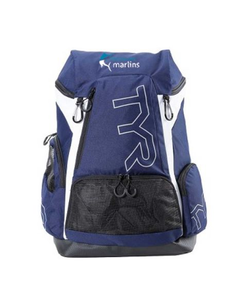 Mid Sussex Marlin TYR Alliance backpack 45L Navy - 45L