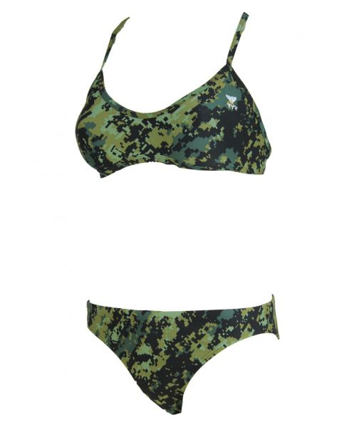 TYR Womens Bikini Cross Cut Fit - Digi Camo