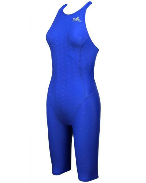 Yingfa Womens 925-2 Shark Scale KneeSkin Royal Blue
