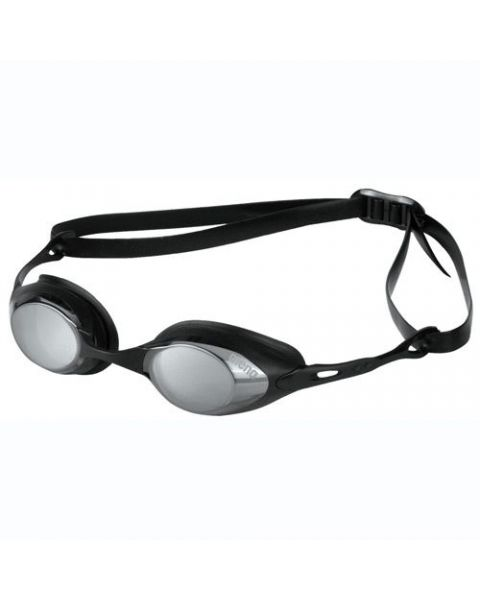 Arena Cobra Mirrored Racing Goggles Smoke/Silver