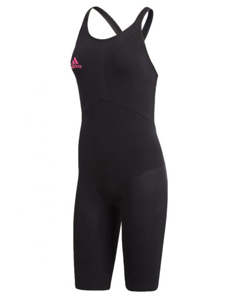 Adidas Womens Elite Take Down Kneesuit - Black / Pink