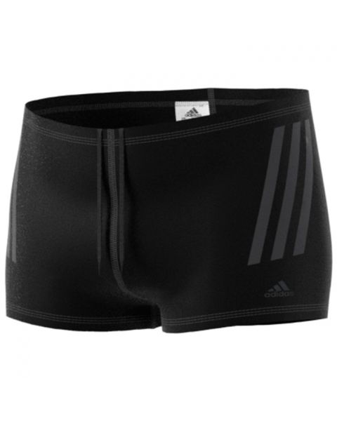 Adidas Men's Pro 3-Stripes Swim Boxers - Black
