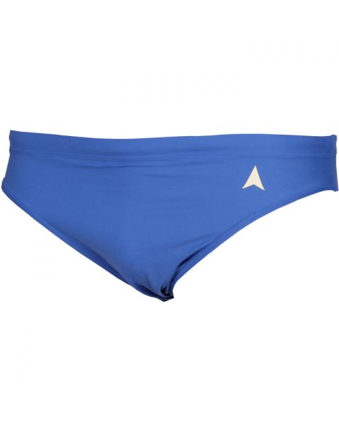 Diana Stencil Trunks Blue
