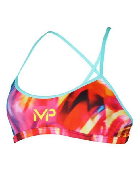 MP Michael Phelps Girl's Rumba Two Piece Swim Bikini  Top