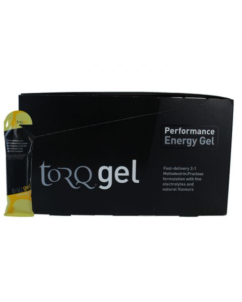 Torq Energy Gel - Lemon Drizzle (Box Of 15)