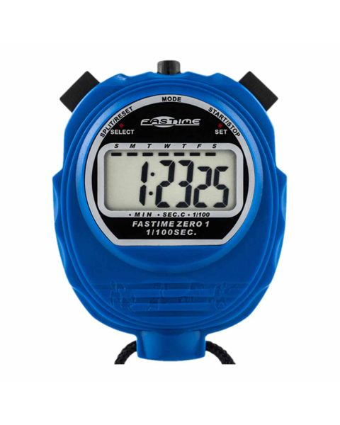 Fastime 01 - Blue Stop Watch- Front