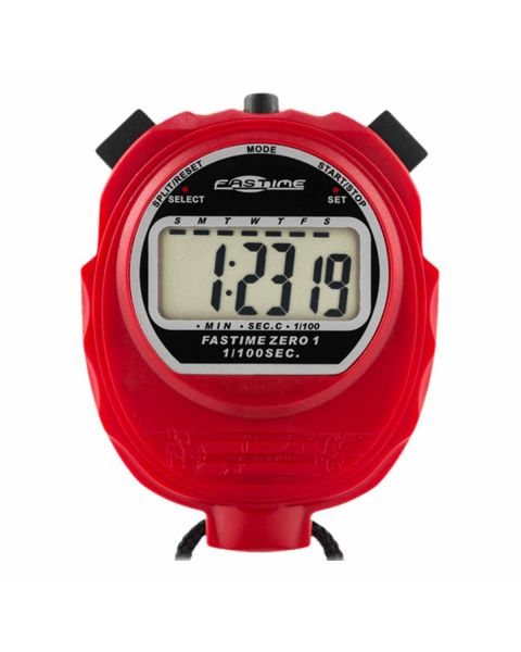 Fastime 01 - Red Stop Watch  - Front