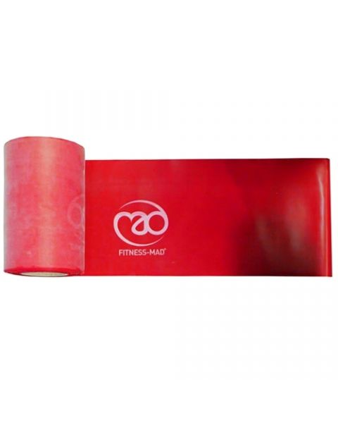 Band Résistance Fitness Mad voyant Roll Rouge 15m