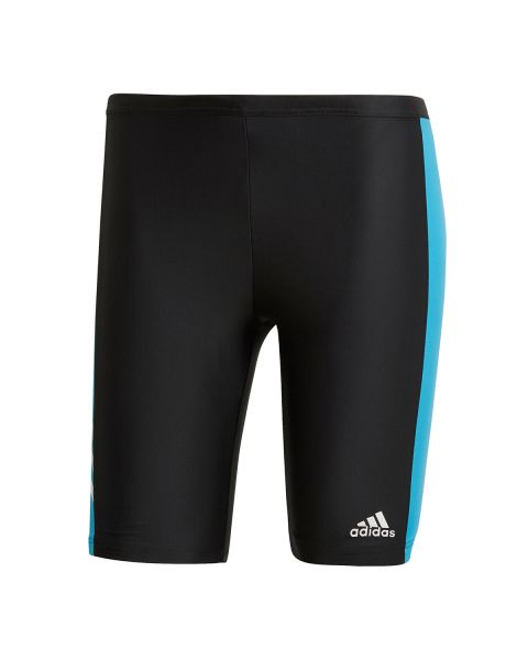 Adidas Garotos Three Second Bermuda - Preto / Azul