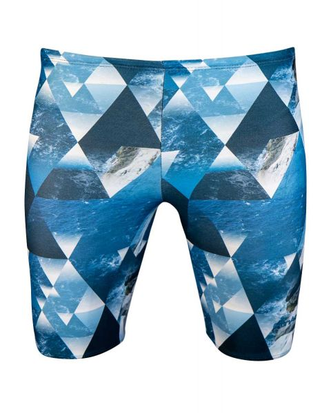 FunAqua Men's Tide Allover Jammer