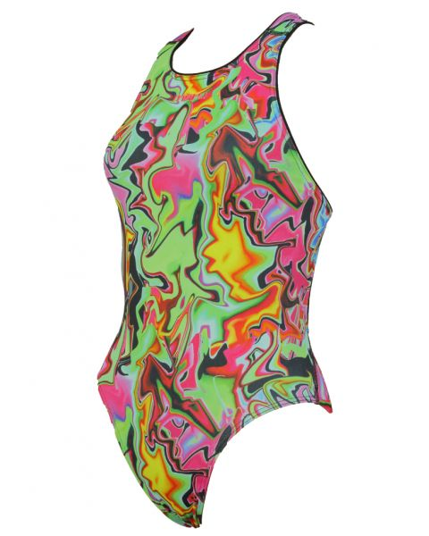 Maru Womens Urban Graffiti Swimsuit
