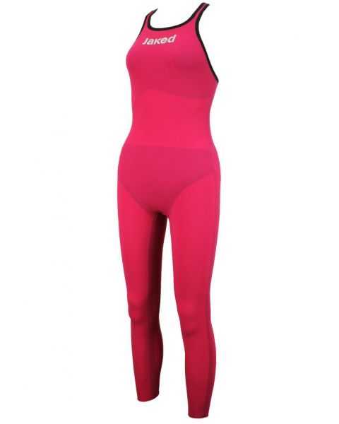 Jaked JKatana Womens Open Water Full Body Suit - Magenta