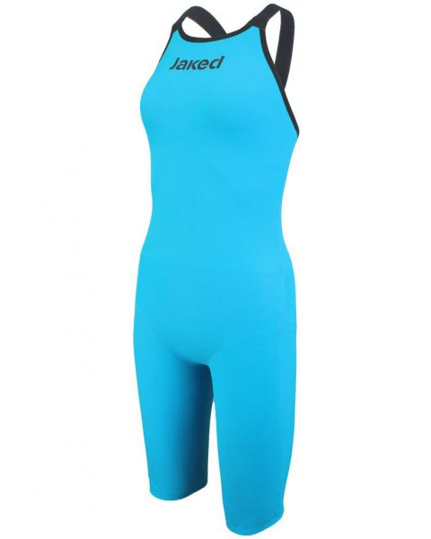 Jaked J-Keel Knee Suit Open Back Turquoise/Black