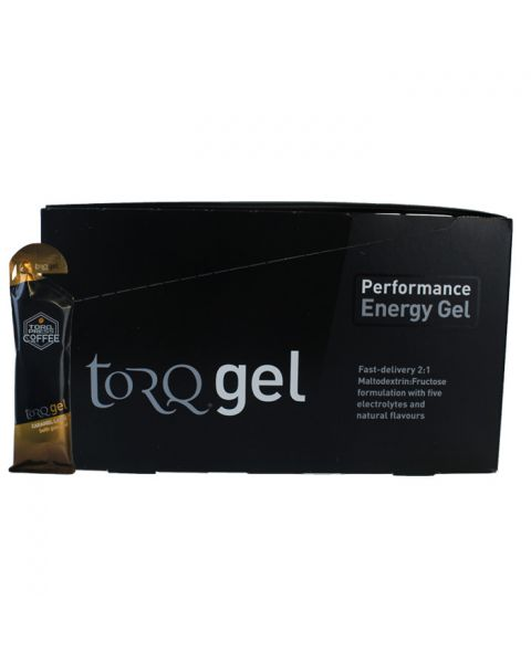 Torq Energy Gel with Guarana - Caramel Latte (Box Of 15)