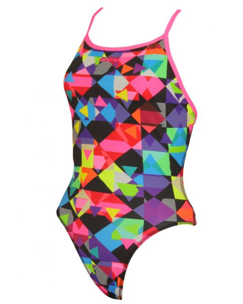 Maru Womens Checker Magic Swimsuit