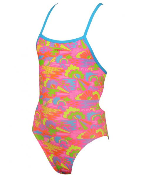 Maru Girls Happy Days Pacer Aero Back Swimsuit