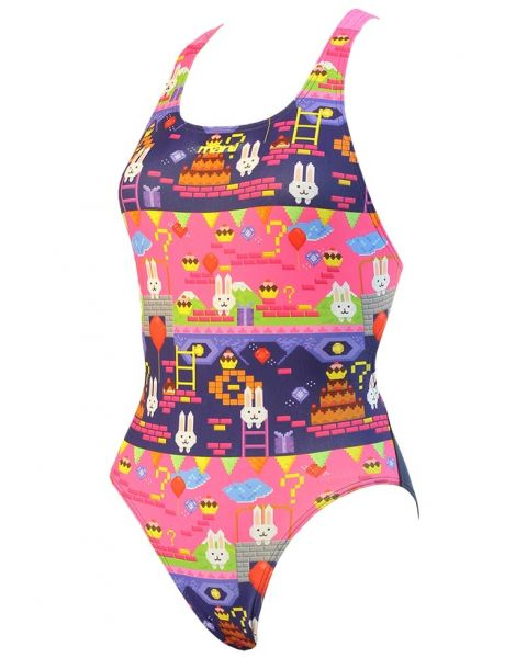 Maru Bunny Hop Girls Swimsuit