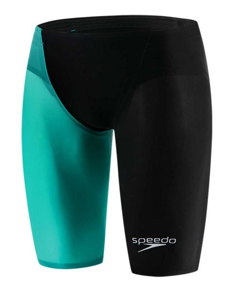 Speedo LZR Elite 2 Jammer - Black / Green