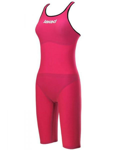 Jaked J Katana Knee Suit Open Back Magenta