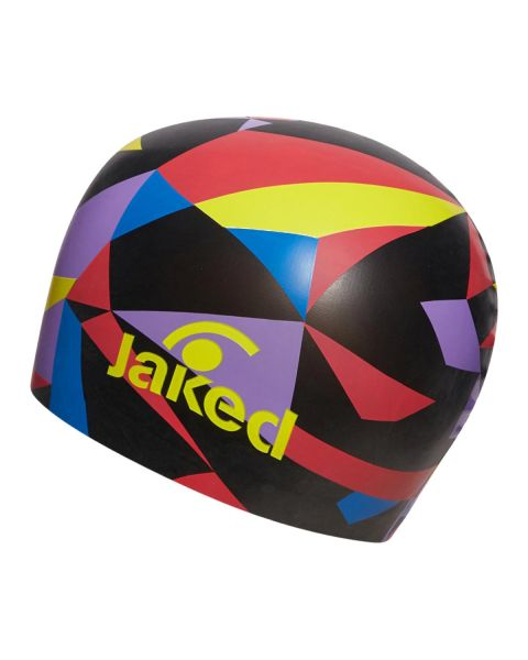Jaked Diamonds Cuffia Da Nuoto in Silicone - Nero