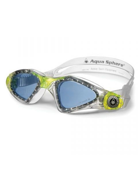 Aqua Sphere Kayenne Junior Goggles Tinted Clear/Lime