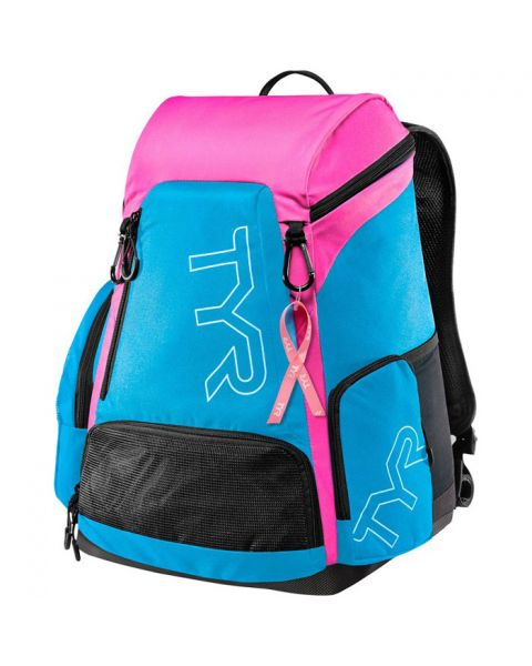 TYR Alliance 30L Backpack Blue/Pink