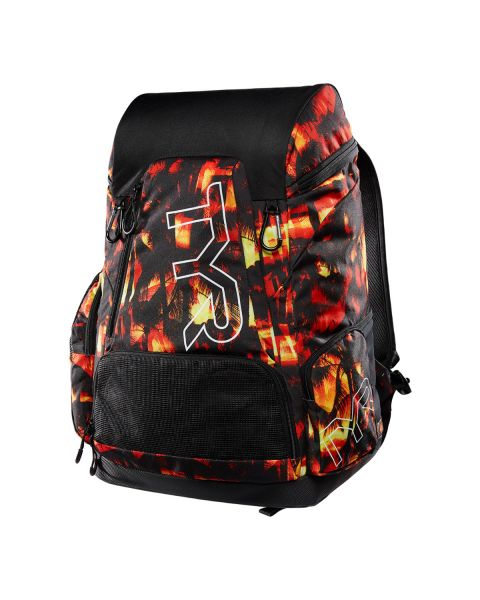 TYR Alliance 45L Sunset Print Rugzak - Rood