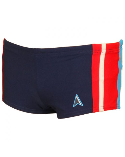 Diana Boys Loyd Swim Shorts - Navy / Red