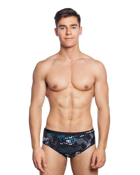 Mad Wave Herren Cliff Badehose - Schwarz