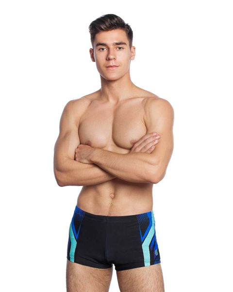 Mad Wave Men's Brave Swim Shorts - Azure