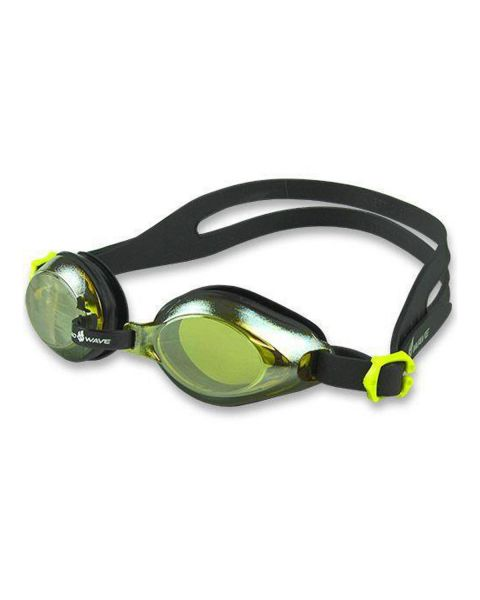 Mad Wave Junior Aqua Mirror Lunettes De Natation - Jaune