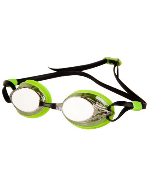 Mad Wave Spurt Mirrored Goggles - Green